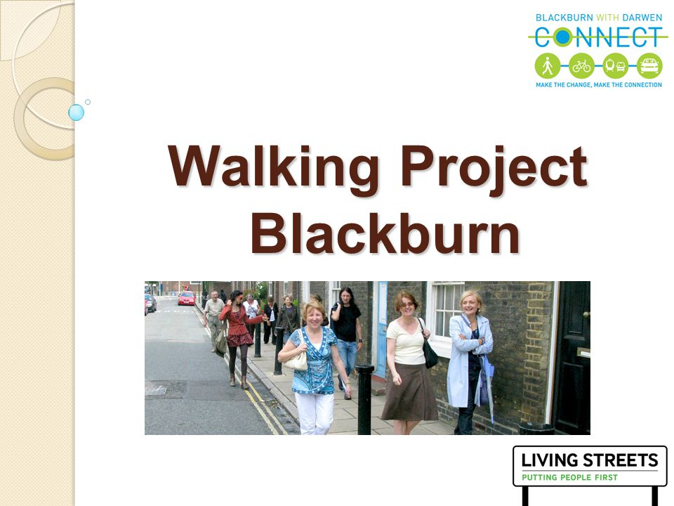 2 Living Streets is the national charity that stands up for pedestrians.