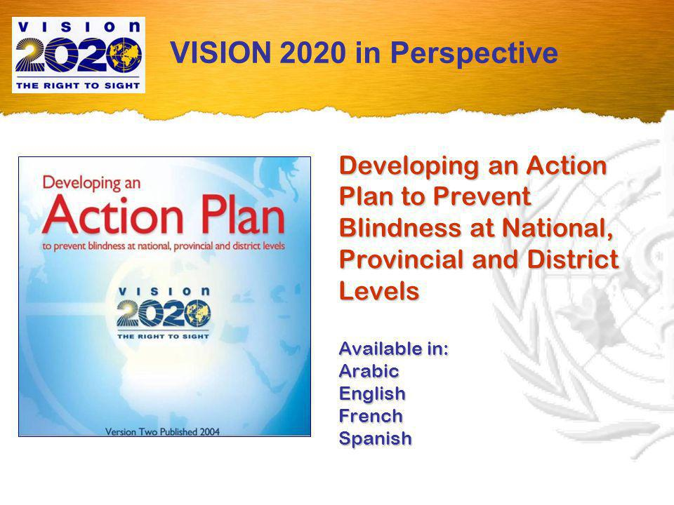 State of the World s Sight VISION 2020: the Right to Sight 1999 - 2005 VISION 2020 in Perspective