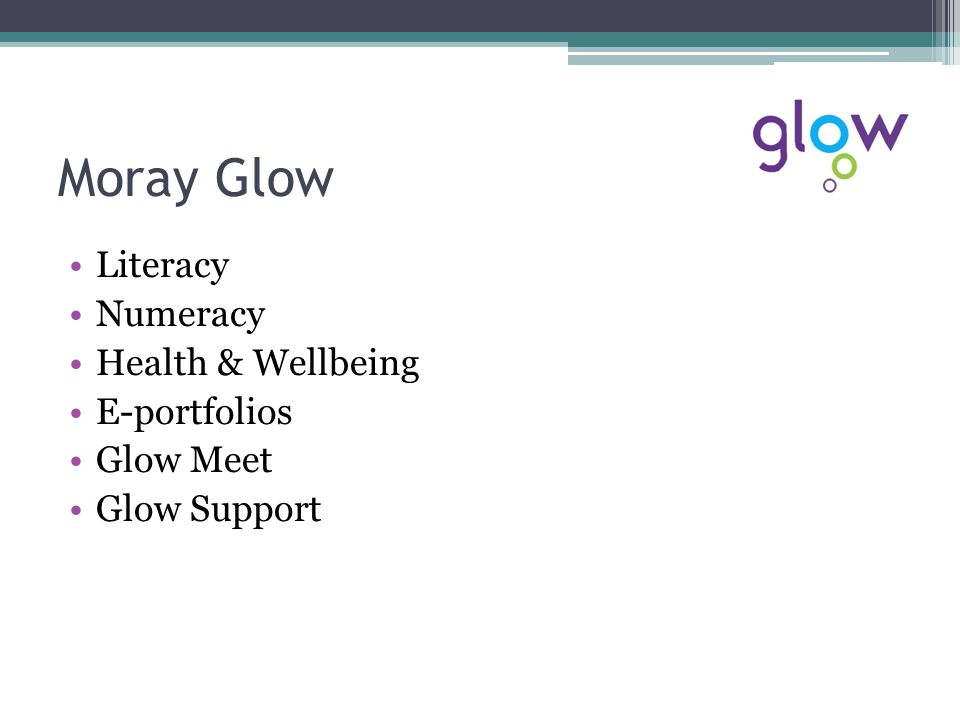 Supply Teacher Acces The Moray Supply Glow Blog ▫https://blogs.glowscotland.org.uk/my/MoraySup plyTeachers/https://blogs.glowscotland.org.uk/my/MoraySup plyTeachers/ How to get access to Glow ▫CPD Stepin Once you have access ▫Links on the Blog