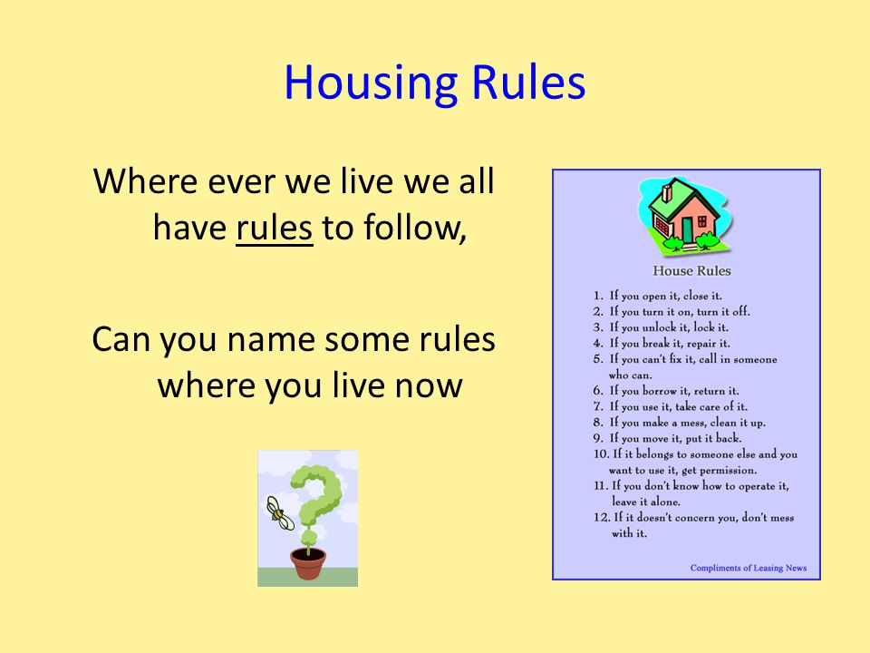 Legal Housing Agreements To live in a home we make an agreement with another person or organisation.