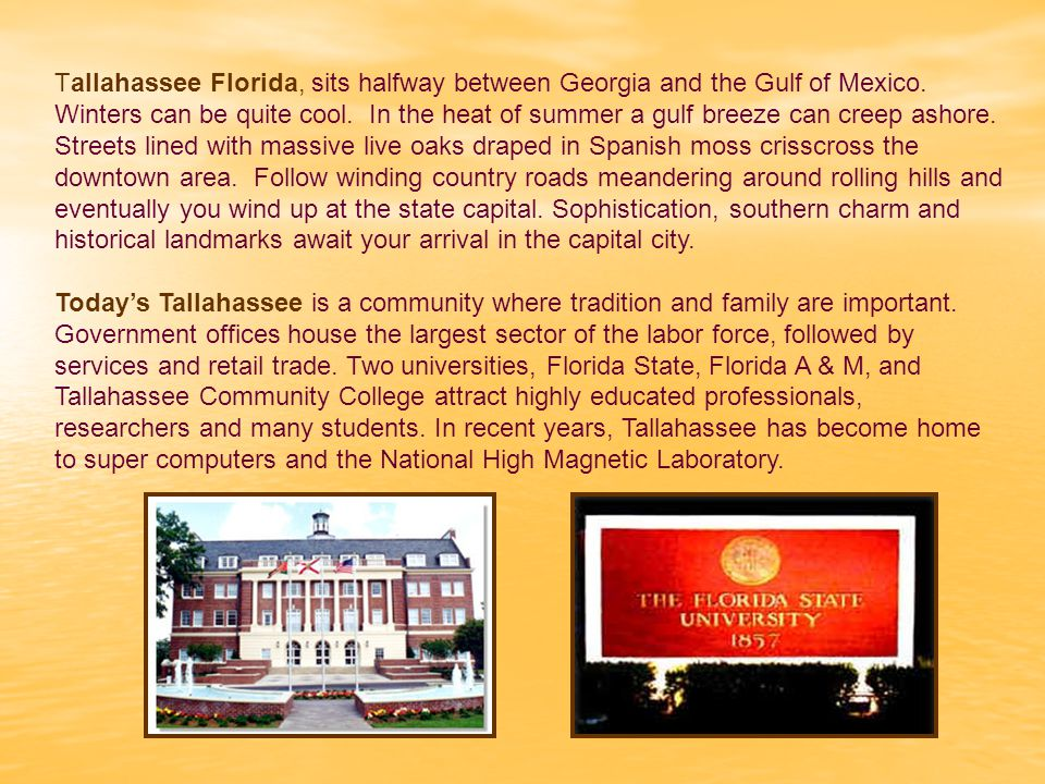 Property Taxes & Historic Properties Tallahassee City Commission and Leon County Board of County Commissioners Grant Historic Preservation Ad Valorem Property Tax Relief to Historic Property