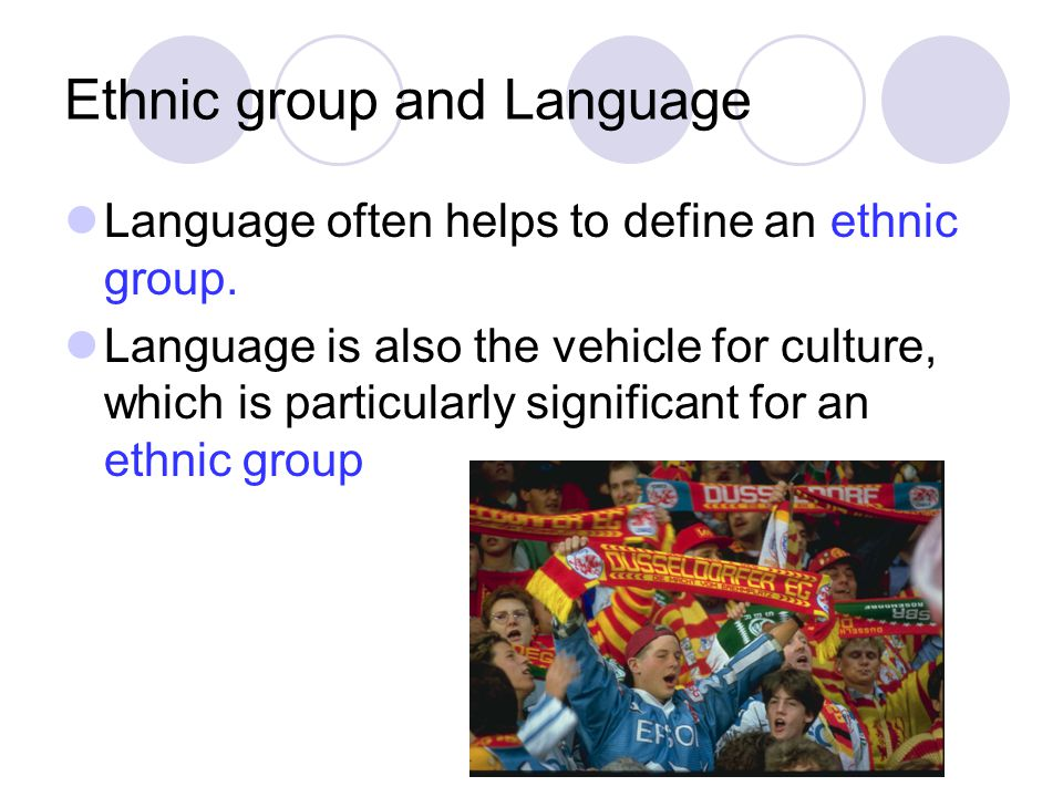 Other factors of ethnic groups Ancestry, history, customs, and traditions- give us the common traits related to the past of the group.