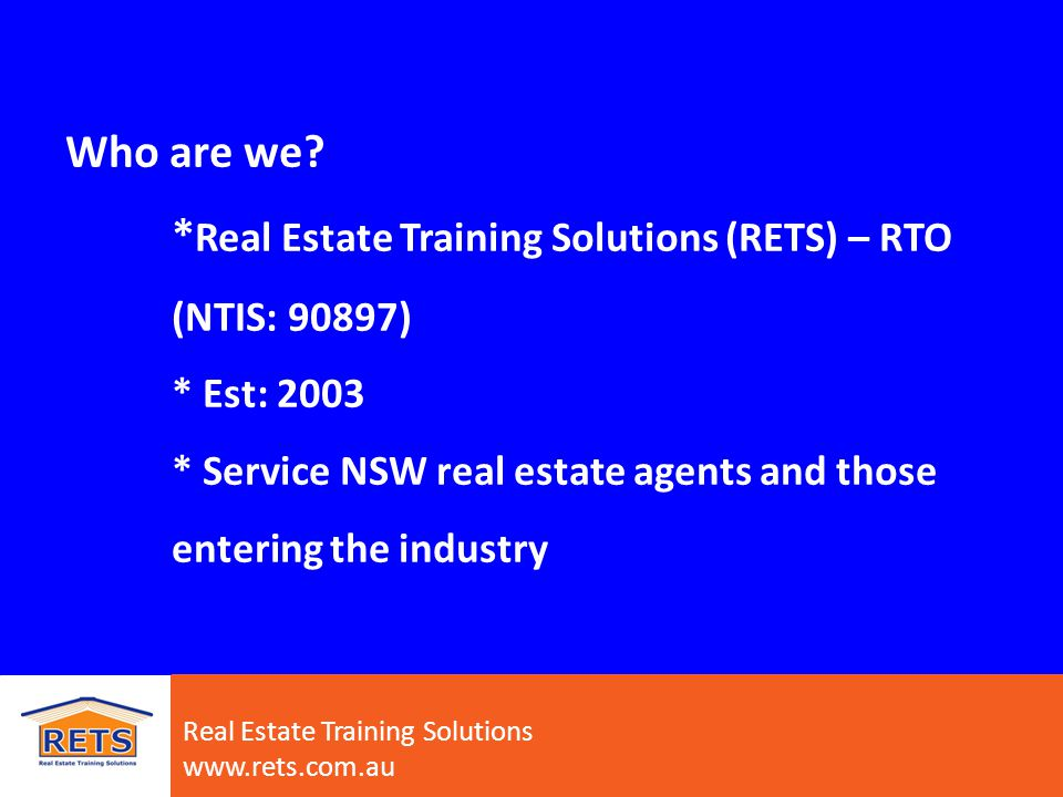 What is real estate.