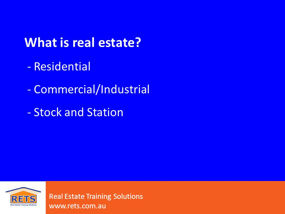 Real Estate Training Solutions www.rets.com.au Office structure – who is who.