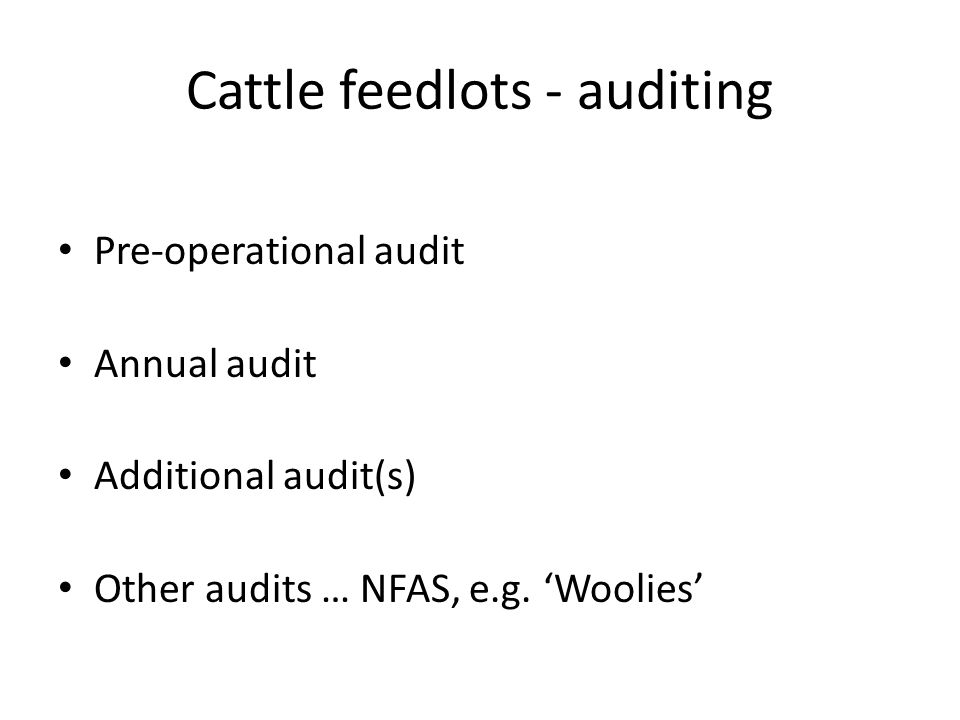 Feedlotting 'Pictures' of feedlotting Drivers behind feedlotting The Victorian/Australian industries Adapting with confidence