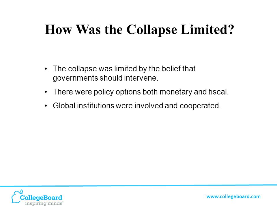 www.collegeboard.com How Successful Were the Interventions.