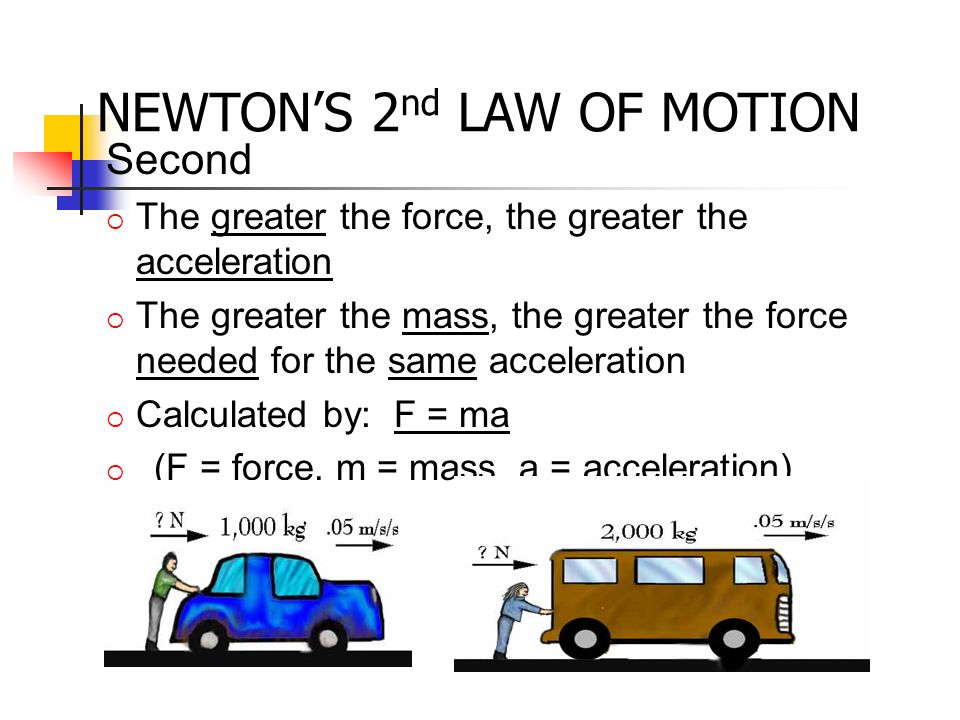 NEWTON'S 3 rd LAW OF MOTION The Law of Interaction (3 rd Law): for every action force from one object on another, there is an equal magnitude, opposite direction reaction force from the 2 nd object back on the 1 st action: hammer hits anvil reaction: anvil hits hammer
