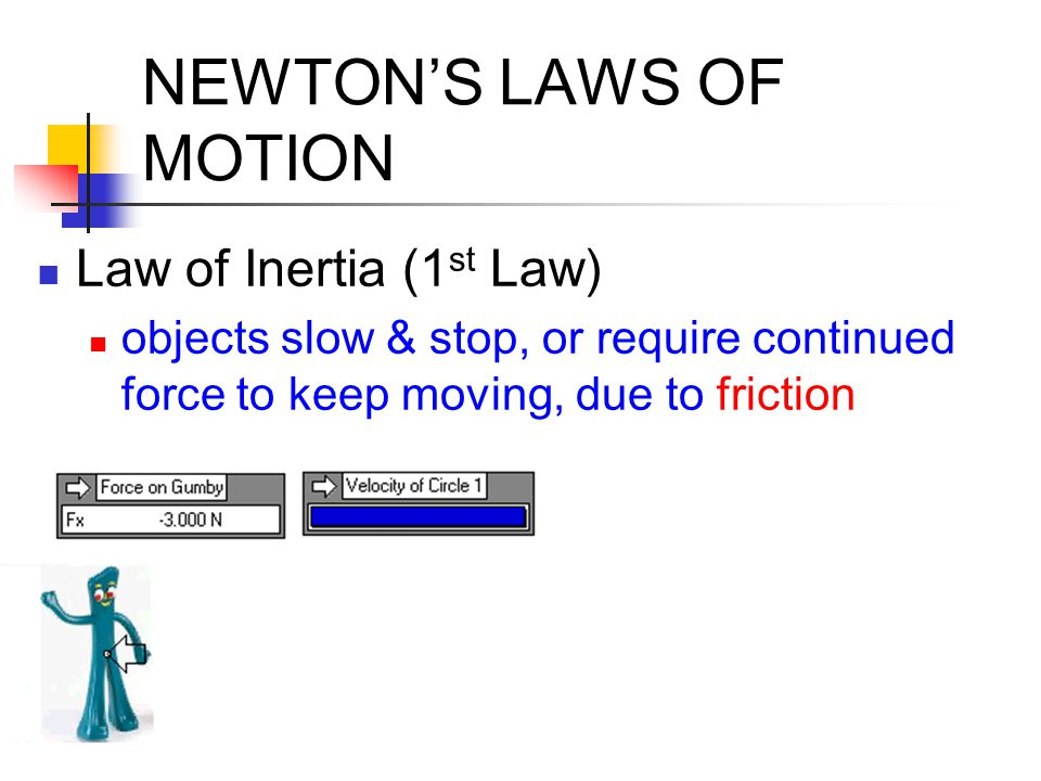 FRICTION Friction Force, F f : resistance to motion between objects in contact with each other acts parallel to contact surface, opposite to motion caused by uneven surfaces, molecular attraction