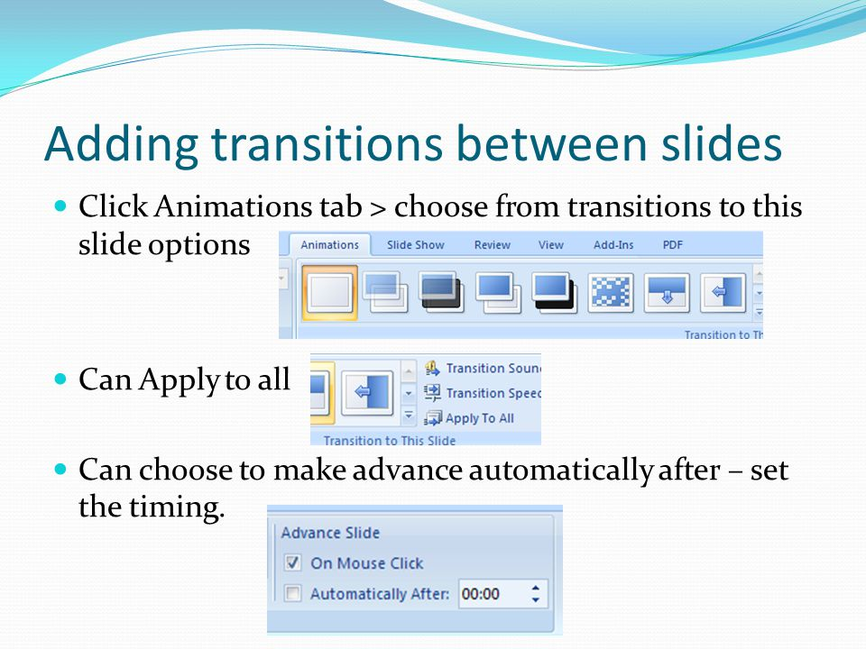 Printing in PowerPoint Click office logo button Choose Print