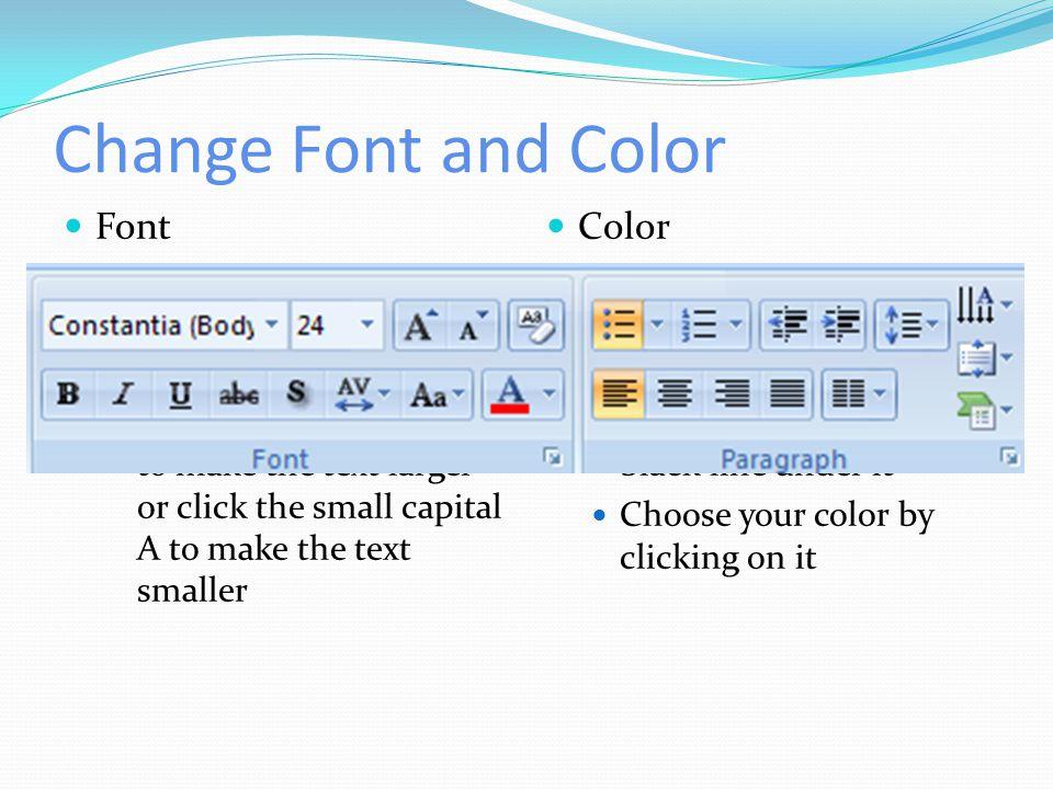 Blank Slide Add a blank slide Blank slide options