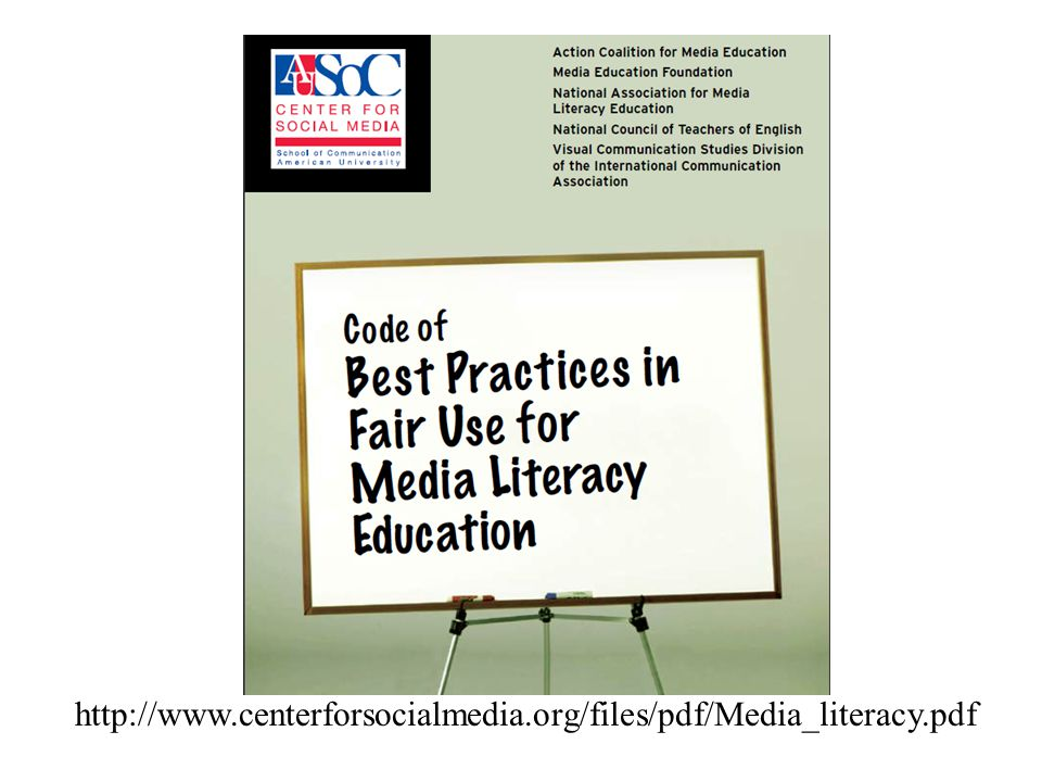 Developed following focus group discussions with library, media, media literacy, and other educators nationwide.