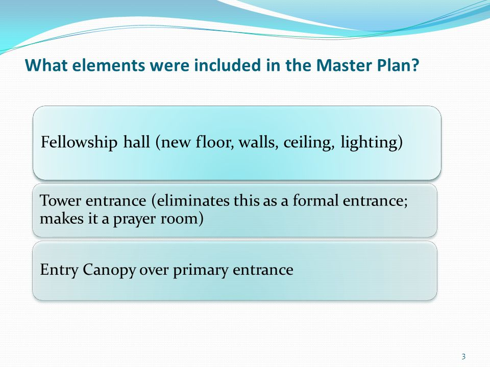 What Master Plan Elements were targeted for Phase 1 in the Capital Campaign.