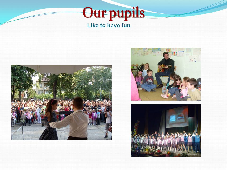 In our Universe-School are situated an Educational Museum and an Ecology Museum.