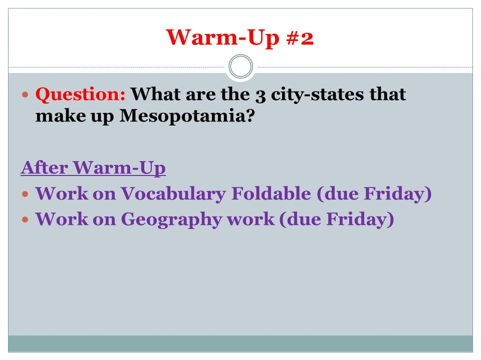 Warm-Up #3 Question: This is a style of government where citizens make decisions by voting.