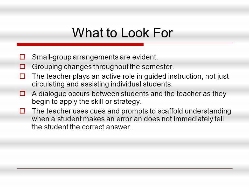 Shared Learning: Two Parts 1.Guided Instruction 2.