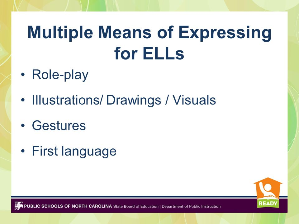 Principle III: Multiple Means of Engagement Taps into learners' interests, offers appropriate challenges, and increases
