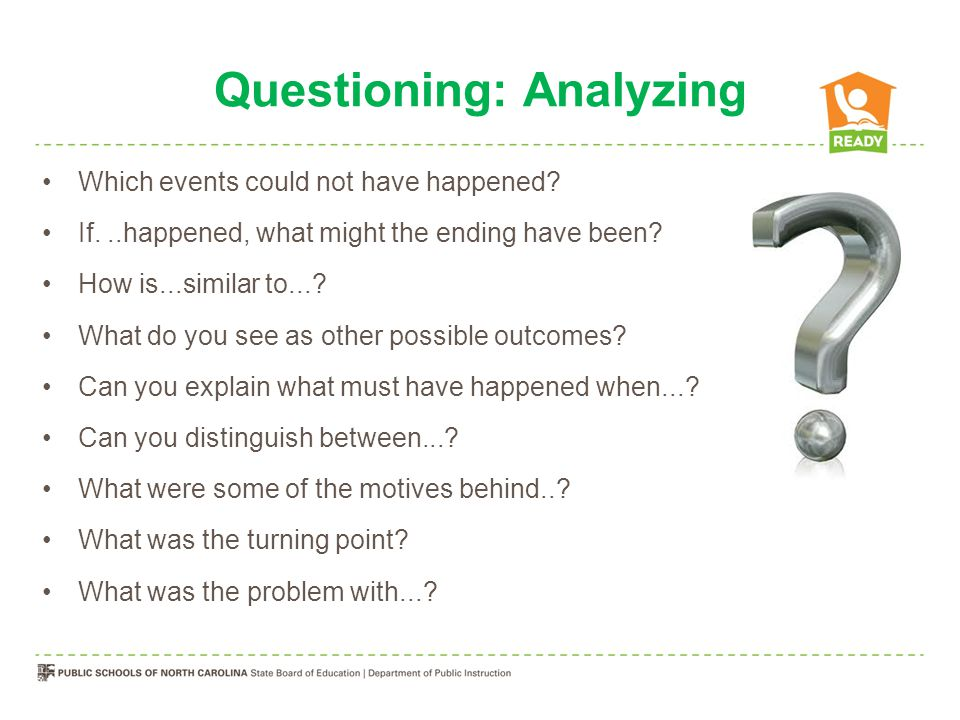Questioning: Evaluating Is there a better solution to....