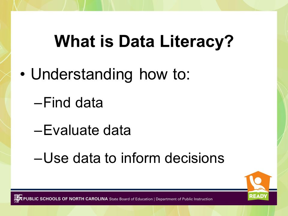 What is Data Literate.