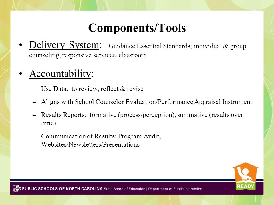 Join Me on A Journey Promising Practice of a Model School Counseling Program in North Carolina