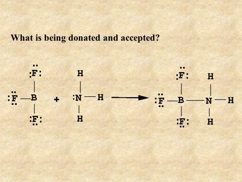 Electron Pair Acceptor Electron Pair Donor Lewis Acid Lewis Base