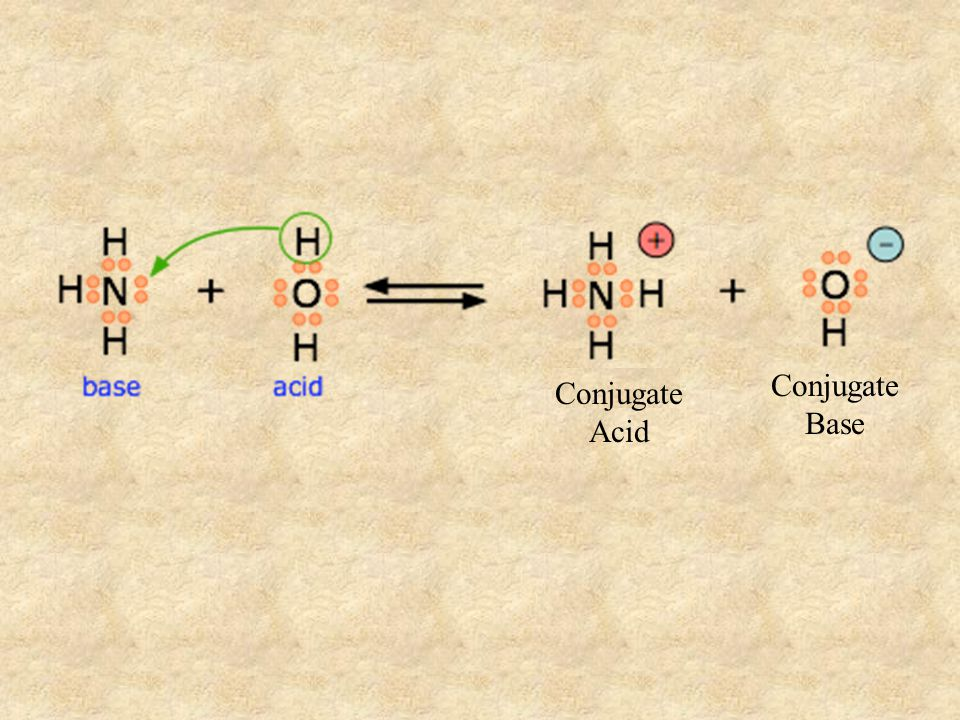 Bronsted-Lowry: an acid is a proton (H + ) donor and a base is a proton acceptor