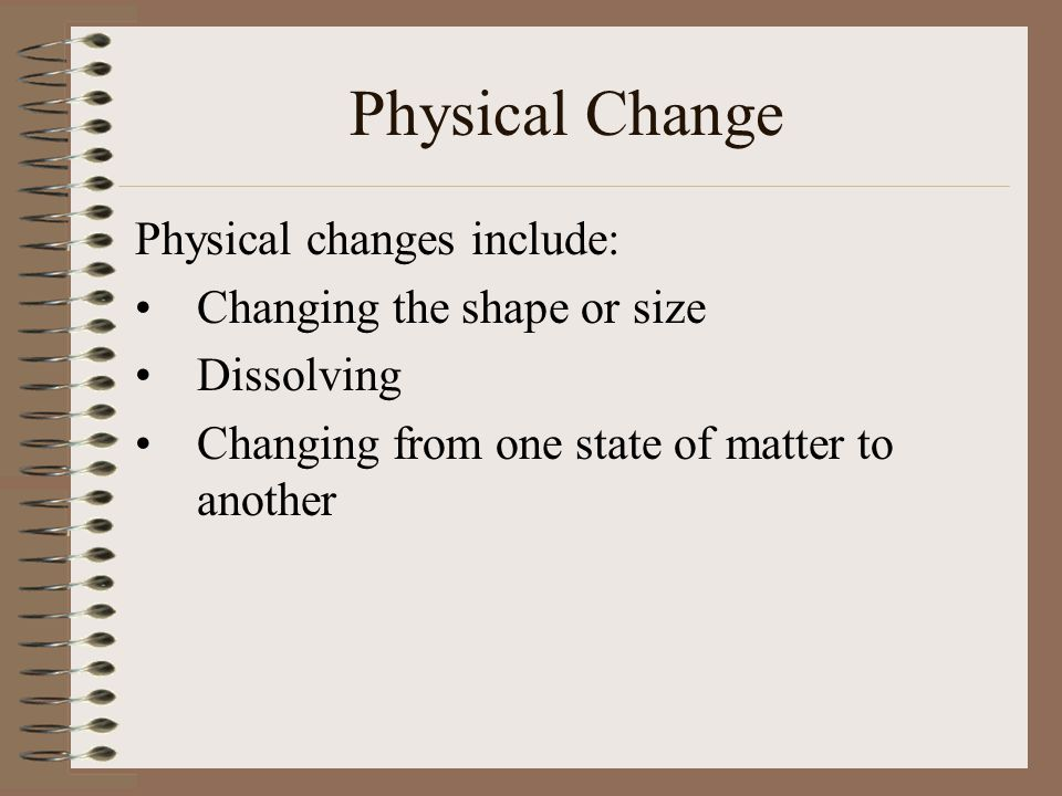 Matter Matter can change from one state to another by increasing or decreasing temperature or pressure.