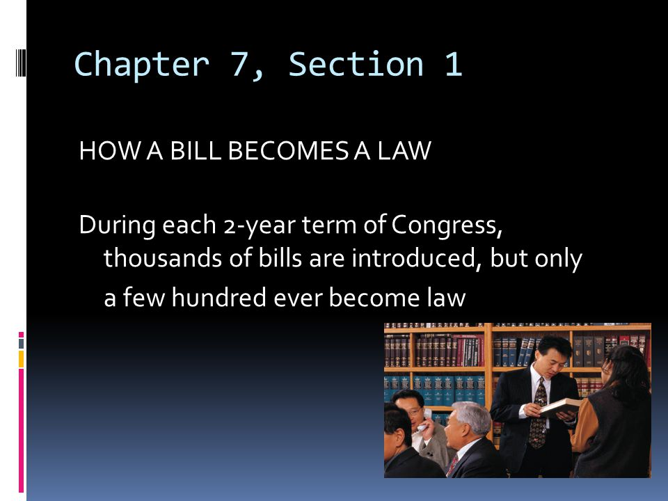 TYPES OF BILLS & RESOLUTIONS Private Bills: dealing with individual people or places Public Bills: bills dealing with general matters and applying to the entire nation Simple Resolution: dealing with unusual or temporary matters, and passed by one house of Congress Joint Resolution: both houses; president's signature gives it force of law