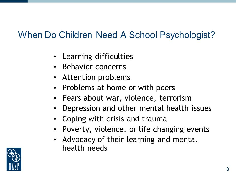 9 What Is the Role of a School Psychologist.