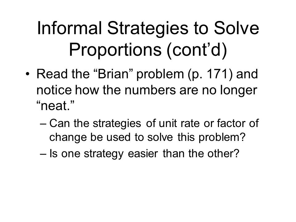 After - Round-table Sharing Reflect Stems –Do you plan to teach the cross-product algorithms.