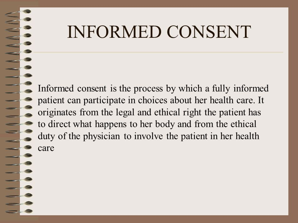 IMPLIED CONSENT The explanation of implied consent says that consent assessed when the surrounding circumstances lead a reasonable person to believe that consent has been granted even though word of agreement were not direct, express or explicit.