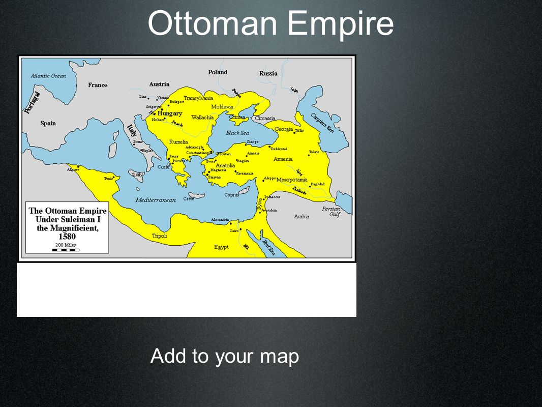 Ottoman Empire 1396 1st Sultanate Elite Army o Janissaries – young captured men, Christian slaves.
