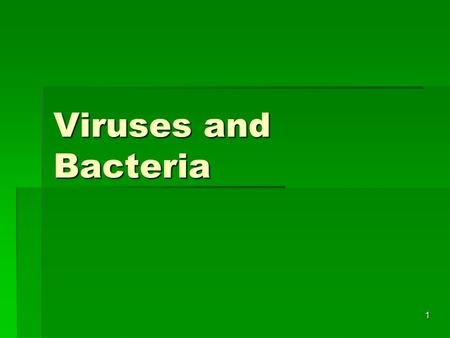 1 Viruses and Bacteria. 2 COVER YOUR MOUTH!!! 3 COVER YOUR MOUTH.