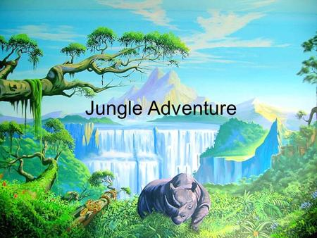 Jungle Adventure. One day Les was at his home in Ontario when he decided to go to Costa Rica. He flies his small plane to a village then kayaks to a huge.