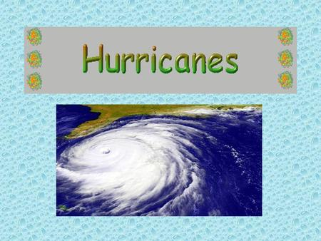 What is a hurricane? A hurricane is a huge storm which can be up to 960 kilometers (600 miles) across and have strong winds spiraling inward and upward.