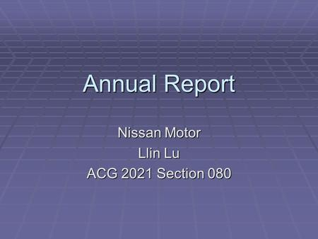 Annual Report Nissan Motor Llin Lu ACG 2021 Section 080.