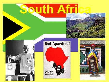 South Africa Part I:.