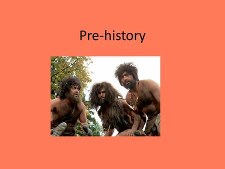 Pre-history. Key Terms Artifacts Culture Hominids Nomads Hunter-gatherers Agricultural Revolution Domestication Civilization Slash-and-burn farming.