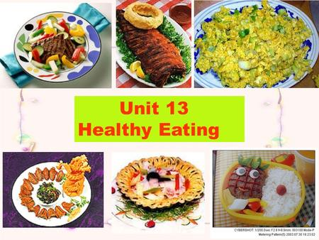 Unit 13 Healthy Eating Snacks 1. Why do people need those snacks? We need to refuel by eating snacks now and then 2. what`s the main idea of each paragraph?