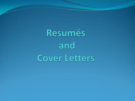 What is a resume? a summary of skills abilities accomplishments a quick advertisement of who you are a snapshot of you.