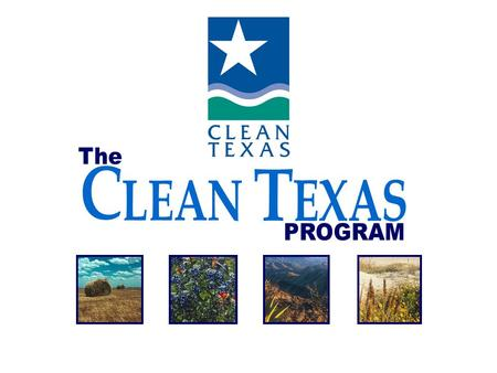 A program of the Texas Commission on Environmental Quality.