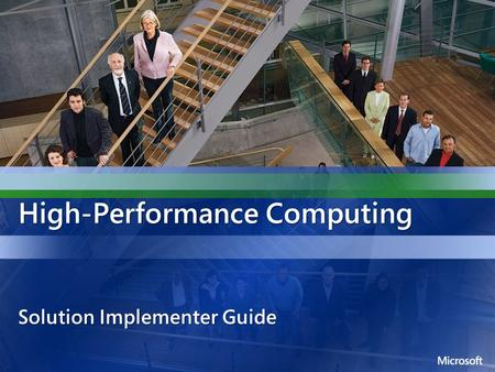 High-Performance Computing Solution Implementer Guide.