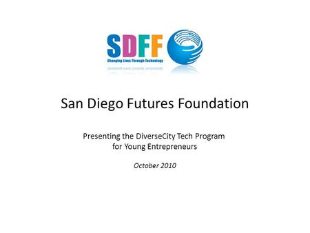young entrepreneur programme business plan