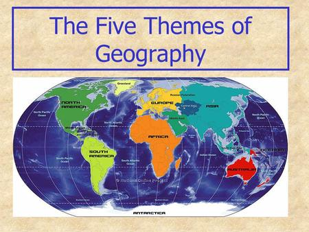 The Five Themes of Geography. Theme 1: Location Where is It? Why is It There? Two Types of Location Absolute Relative.