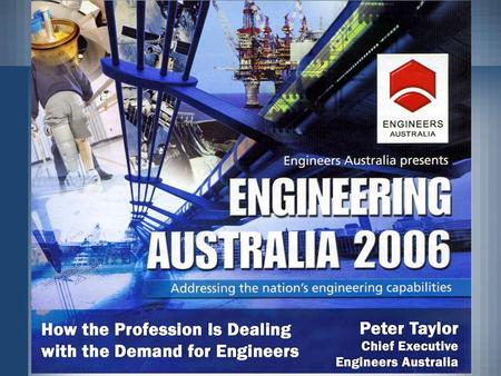 Each year: 35 universities offer over 230 Bachelor of Engineering Courses to approx 50,000 students. 5,000 Australian students graduate from engineering.