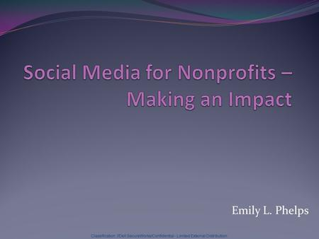 Social Media for Nonprofits – Making an Impact