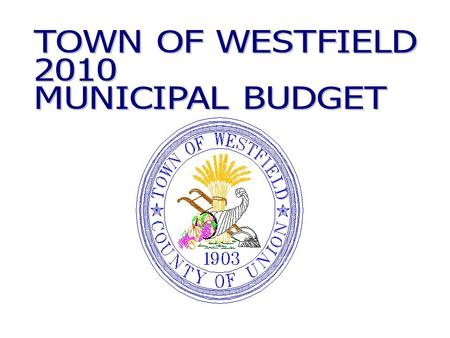 2010 Municipal Budget - Appropriation Trends EXPENDITURES2007200820092010 Salaries & Wages $16,489,515 $17,007,9843.1% $17,224,6141.3% $16,196,923-6.0%