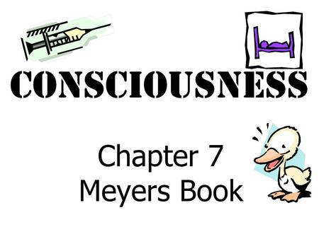 Consciousness Chapter 7 Meyers Book Circadian Rhythms.