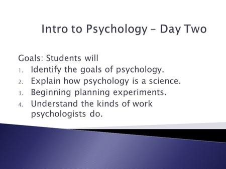 psychology as a science 2 essay