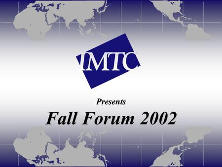 Presents Fall Forum 2002. H.235 Security Status Quo and Perspectives Presented by Martin Euchner, Rapporteur Q.G/16 Siemens AG.