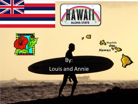 By: Louis and Annie. How are state become a state. Hawaii became a state on august, 21, 1959 known by the ''aloha'' state. Hawaii is the 50 th state of.